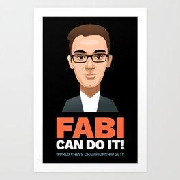 FABI Can Do It! Art Print