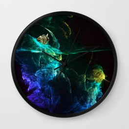 Falling into Abuss Wall Clock