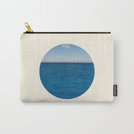 Water & Sky Horizon Round Photo Carry-All Pouch