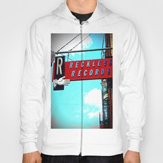 Reckless Records ~ chicago sign Hoody