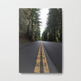 Road to Mendocino Metal Print