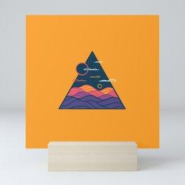 Line Scapes 11 Mini Art Print