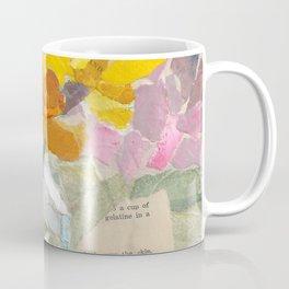 Yellow Flower Collage Coffee Mug