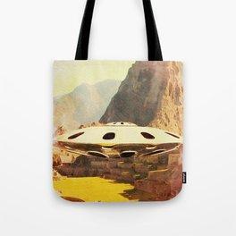 Flying Saucer - Machu Picchu Tote Bag