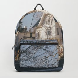 A house at the end of the world Backpack