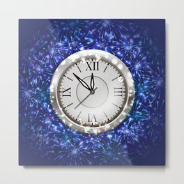 New Year decoration Metal Print