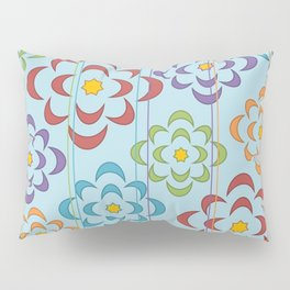 Flowers in the Sky Pillow Sham