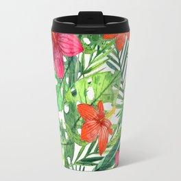 TROPICAL FLORAL 5 Travel Mug
