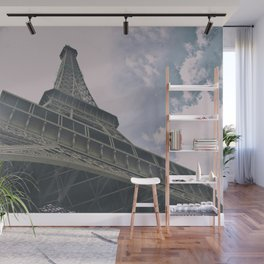 Eiffel Tower in Paris, France. Landmark in France Wall Mural