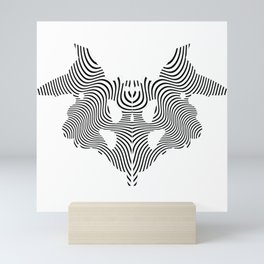 Stain of Rorschach Mini Art Print