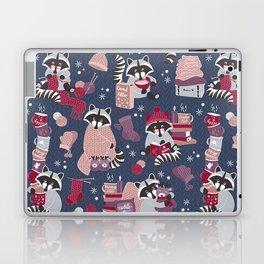 Hygge raccoon Laptop & iPad Skin