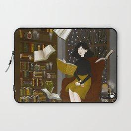 floating books Laptop Sleeve