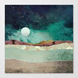 Spring Night Canvas Print
