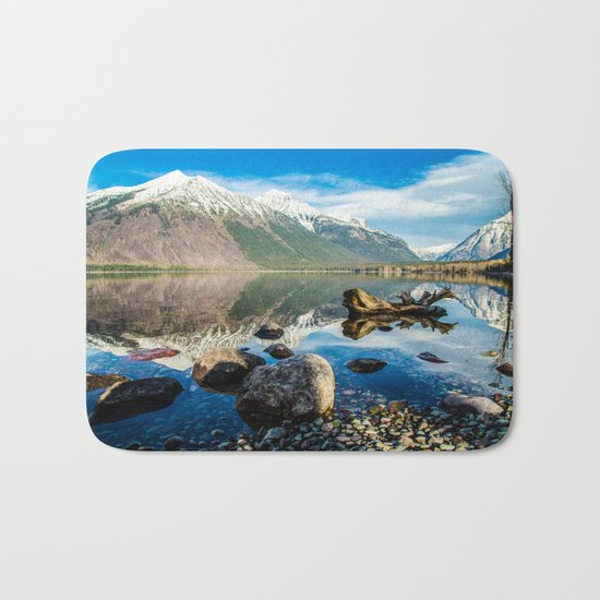 Mountains in the Distance Bath Mat