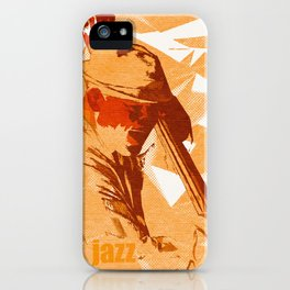 Jazz Fest Poster iPhone Case