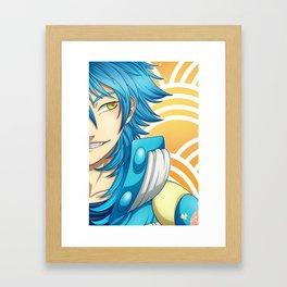 DRAMAtical Murder: Aoba Framed Art Print