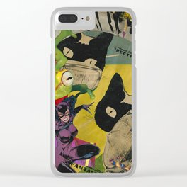 Jump into the Light Clear iPhone Case