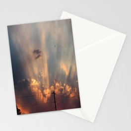 Fourth of July Sky Stationery Cards