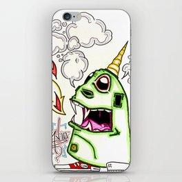 Dragon... Unicorn... Man... Thing iPhone Skin