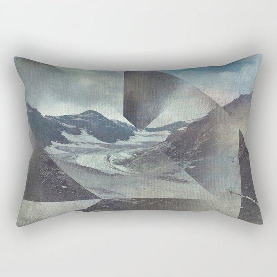 Mountains Glacier - Cuts Rectangular Pillow