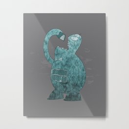 The Librarian Metal Print