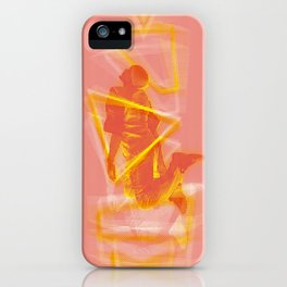 The Pyrotechnician Zacarias fire version (based on the story of Murilo Rubião) iPhone Case