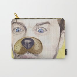 Misha Collins, watercolor painting Carry-All Pouch