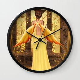 Not Looking Wall Clock