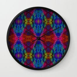 Varietile 50c (Repeating 1) Wall Clock