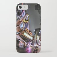 theater iPhone & iPod Cases featuring Theater District by LMFK