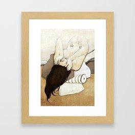 slow decay Framed Art Print