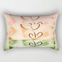 not quite broken Rectangular Pillow