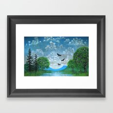Higher Framed Art Print