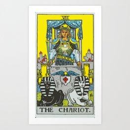 07 - The Chariot Art Print