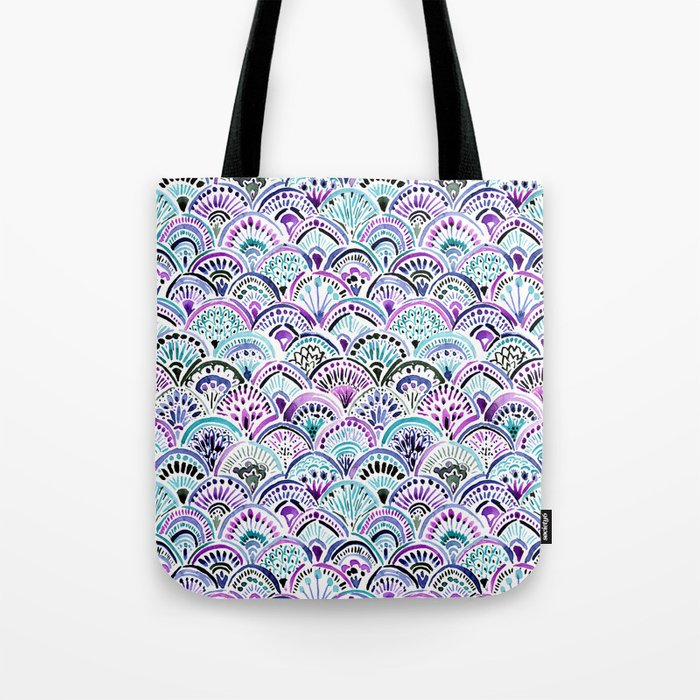 Mermaid Medallion Tote Bag