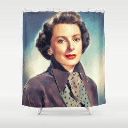 Deborah Kerr, Vintage Actress Shower Curtain