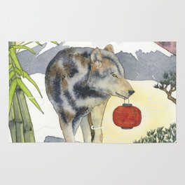 2018 Chinese New Year of the Earth Dog Rug