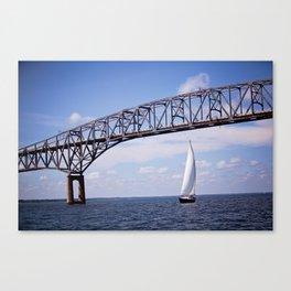Sail Away Color Canvas Print