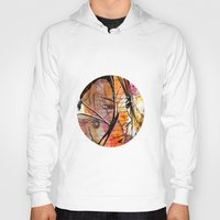 anime Hoodies featuring Anime 2 by Del Vecchio Art by Aureo Del Vecchio