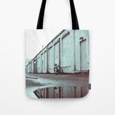 Neighborhood alley Tote Bag
