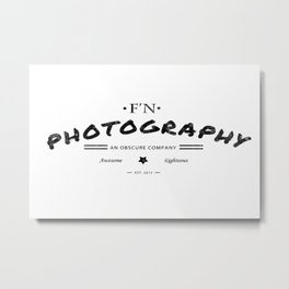 Fn Photography Metal Print