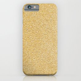 Corn meal. Background. iPhone Case