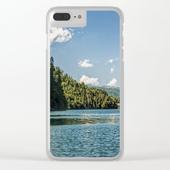 Koenigssee lake Bavaria Mountains Alps on #Society6 Clear iPhone Case