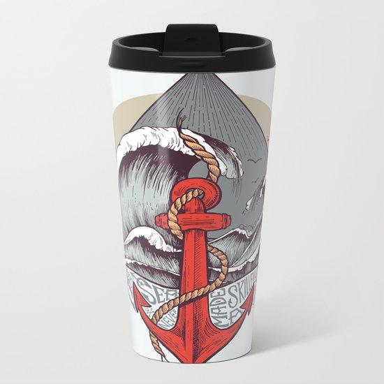 Smooth Sailing Metal Travel Mug