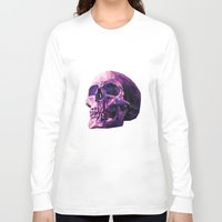 skull Long Sleeve T-shirts featuring Skull by Roland Banrevi
