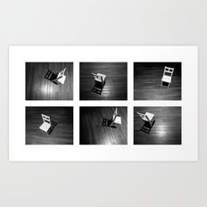 Dancing Chair - Polyptych Art Print