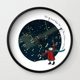Constelations Wall Clock
