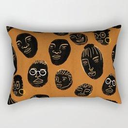 Rolling Heads Rectangular Pillow