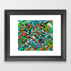 Stucco Sea 1 Framed Art Print