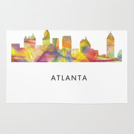 Atlanta, Georgia Skyline WB1 Rug
